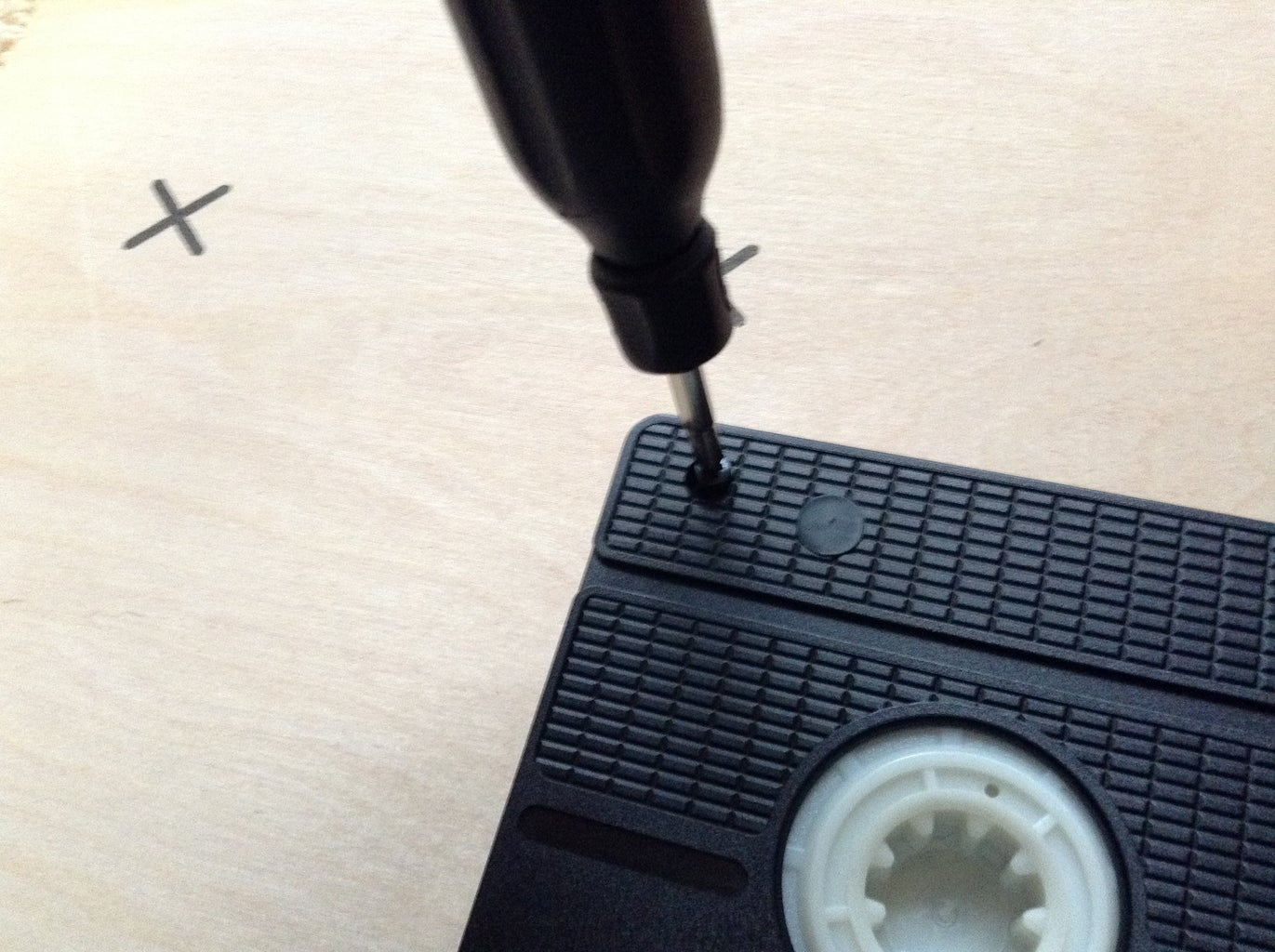 Taking Apart the VHS