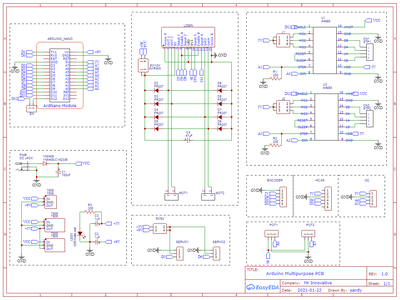 PCB Design and PIN Details