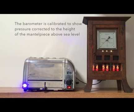 Nixie Clock Mood Barometer
