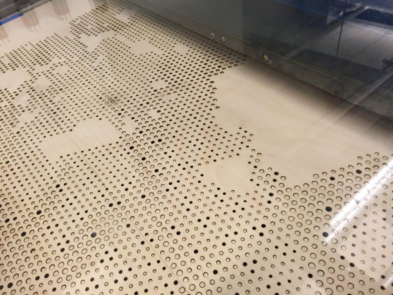 Large Series: Lasercutting