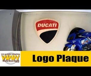 Ducati & Hyosung Logo Plaques