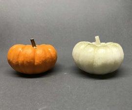 Cast Faux Pumpkins
