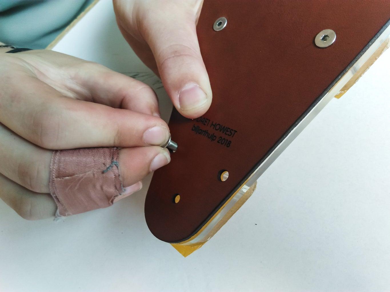 Start Assembly; the Handplate