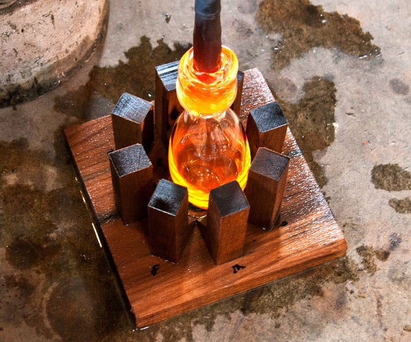 Wood Mold for Glassblowing