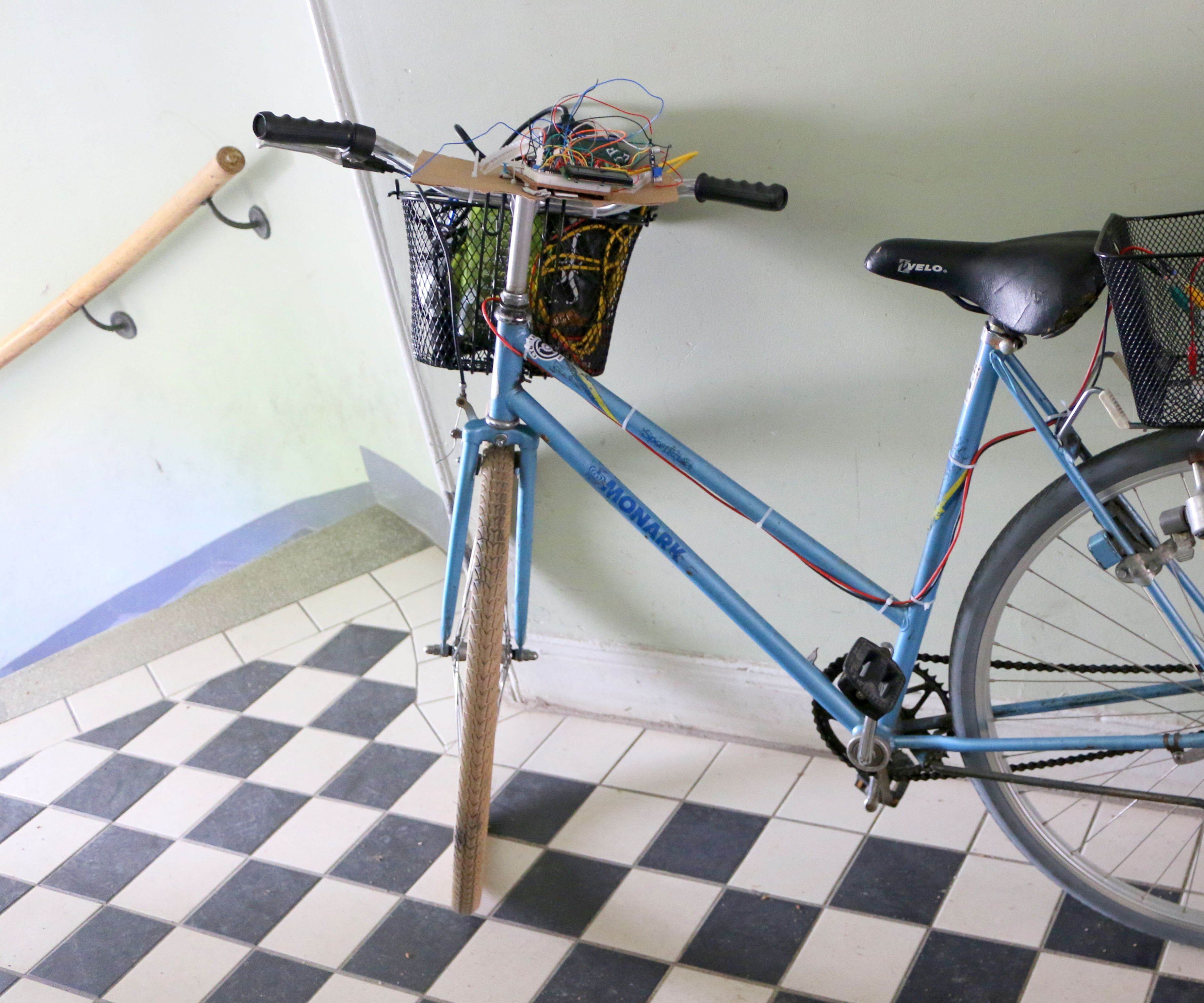 Bicycle - powered arduino water purification system (using UVC light)