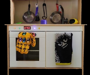IKEA DUKTIG Kids Kitchen Oven Upgrade