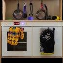 IKEA DUKTIG Kids Kitchen Oven Upgrade