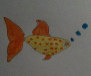 How to Draw a Goldfish!