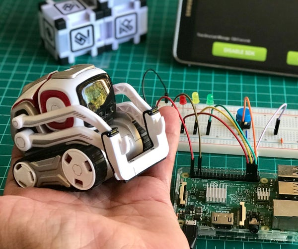 When COZMO, the Robot Meets the Raspberry Pi