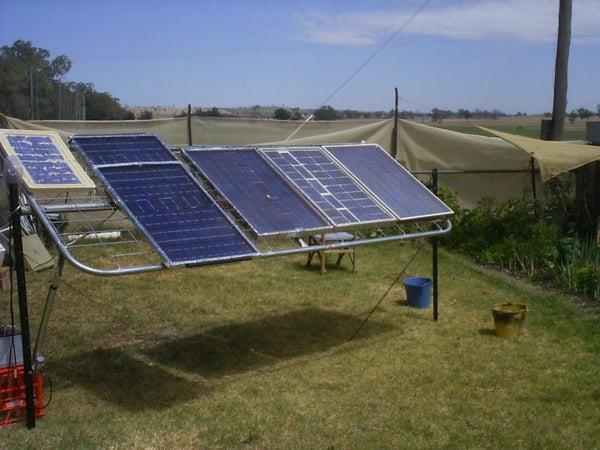 D.I.Y. Solar Setup.