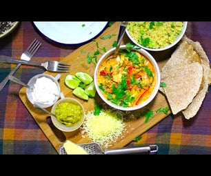 Simple Mexican Inspired Curry