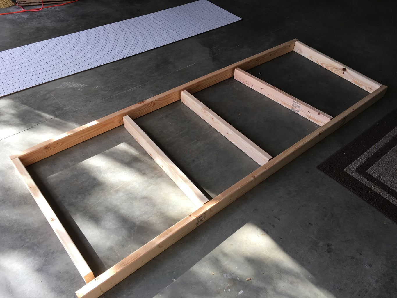 Attach Backboard and Shelf