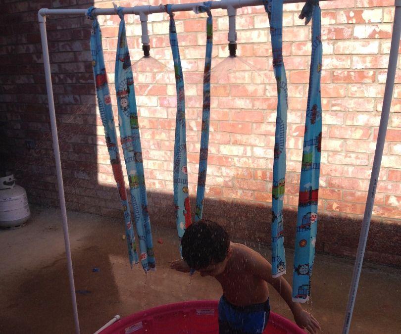 """Kids PVC """"Car Wash"""" Water Sprinkler Toy"""