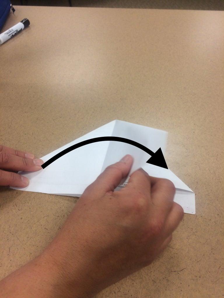 Fold 1 Flap Back Over
