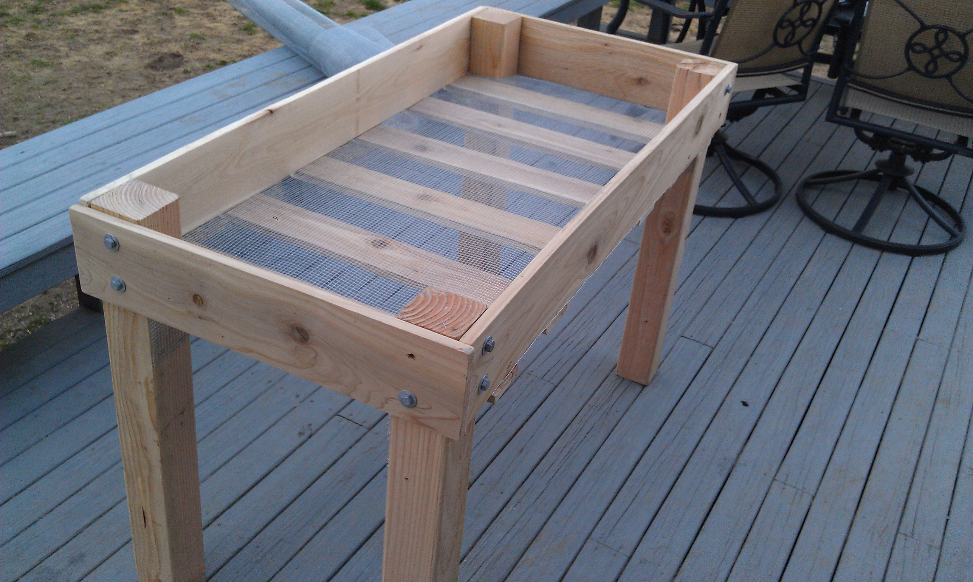 Picture of: Diy Raised Bed Planter 16 Steps With Pictures Instructables