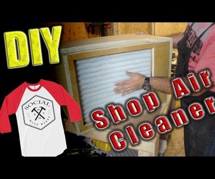 DIY Shop Air Cleaner