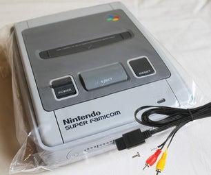 How to Set Up a Super Nintendo SNES FAMICOM to a HD TV