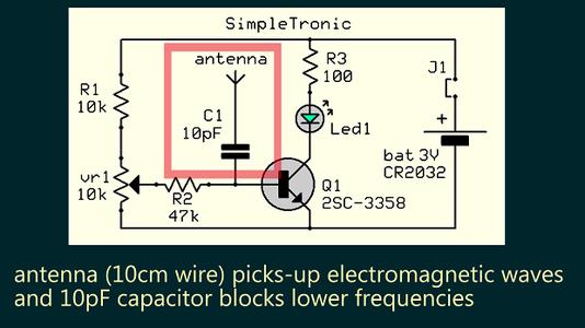 10pF Cap Blocks Lower Frequencies