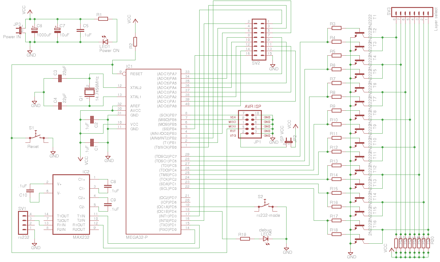 Sparkfun Irc Archive For 2014 03 14 Circuit Diagram Of 8x8x8 Rgb Led Cube