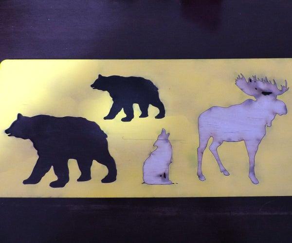 Laser Cut Animal Puzzle