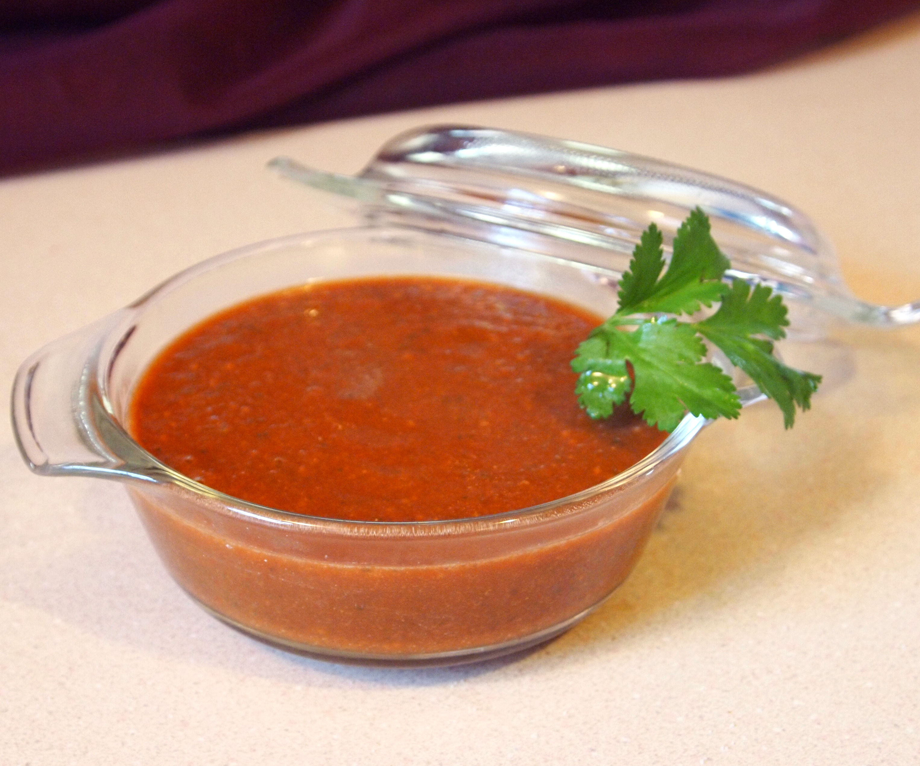 Healthy Homemade Taco Sauce