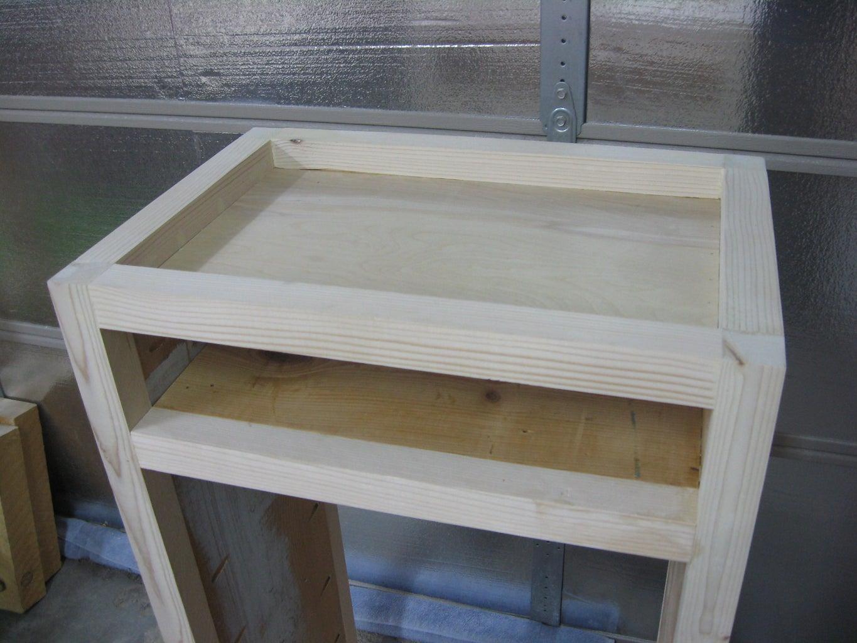 Top Panel and Shelf