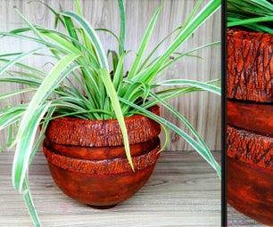 How to Make This Cement Vase | Antique Vase | DIY