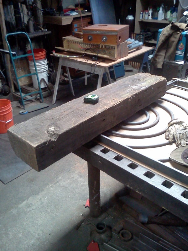 Anvil Stand - Pt.1 - Sourcing Materials & Construction