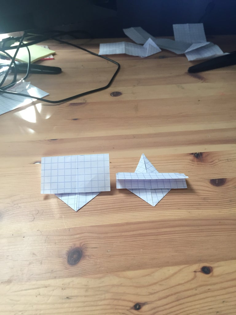 The Triangle Folding 2