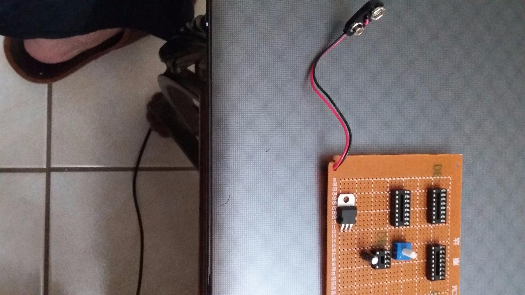 Installing the Voltage Regulator & 9V Battery Clip