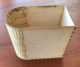 Kerf Bent Box With MakerCase