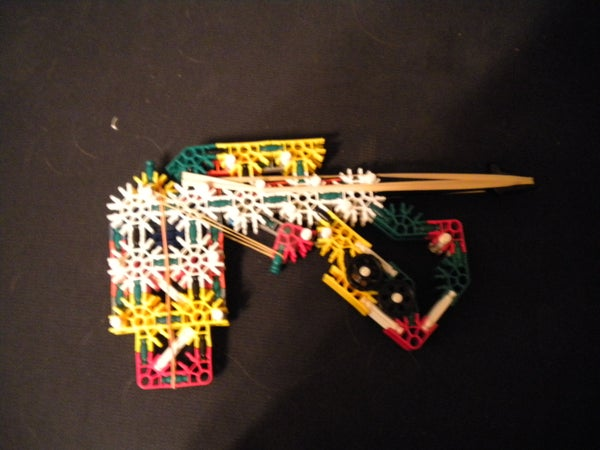 First Knex Pistol With Mag