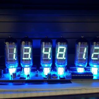 IV-11 VFD Tube Clock Assembly Guide