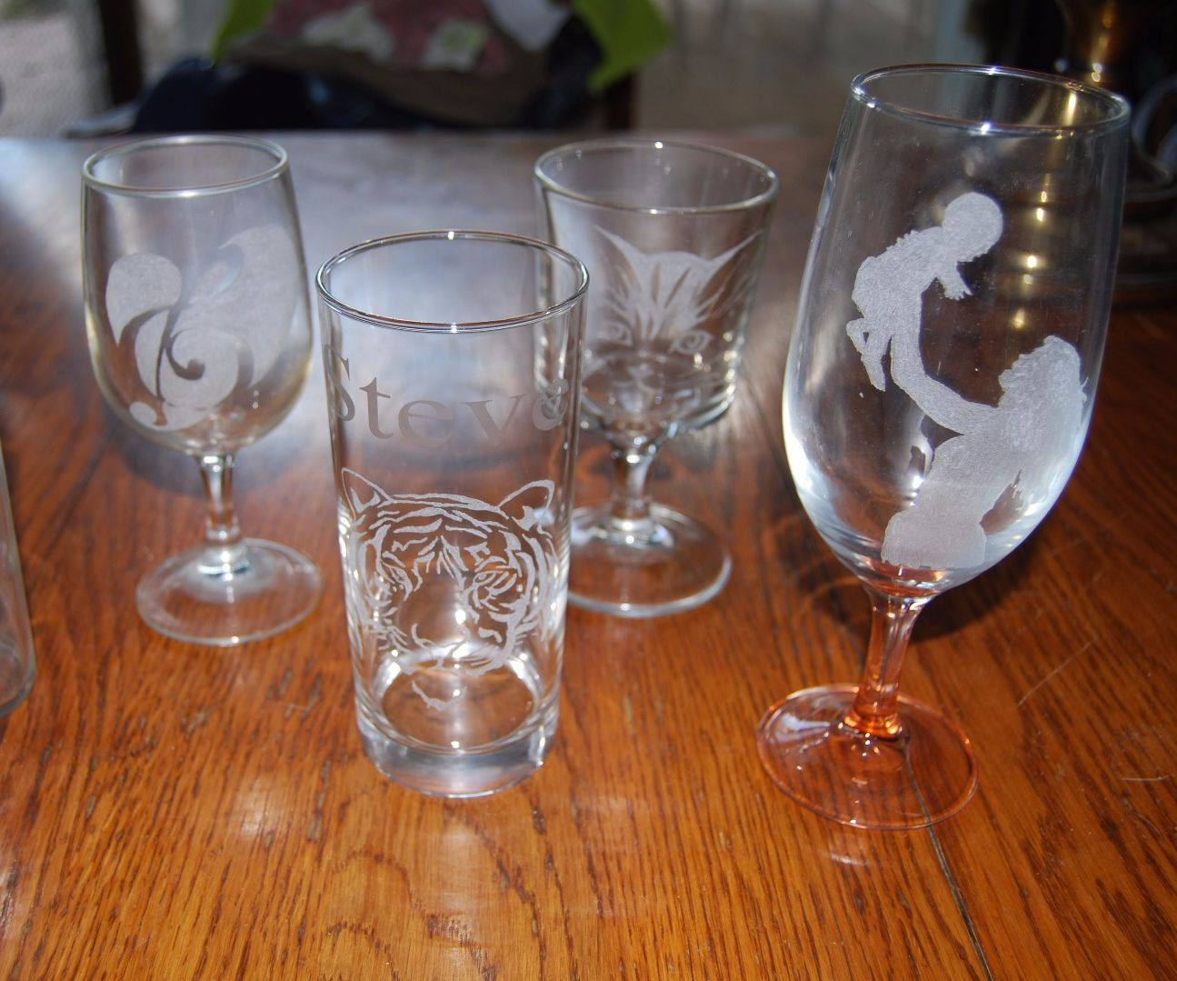 Glass Engraving Fun And Easy 10 Steps With Pictures Instructables