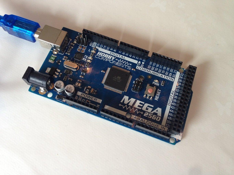 Arduino Mega 2560 R3 Setup.