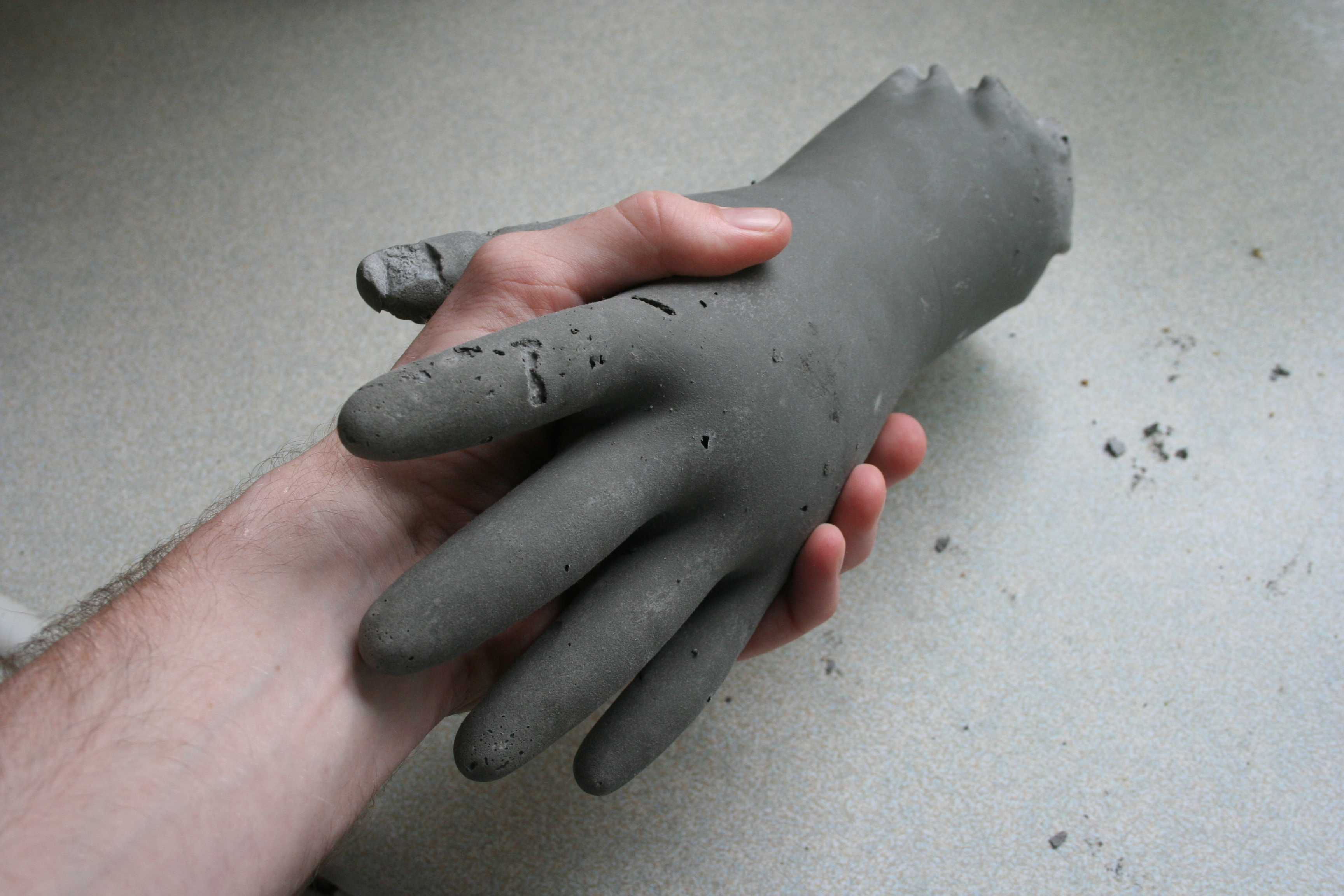 Lend a (concrete) hand