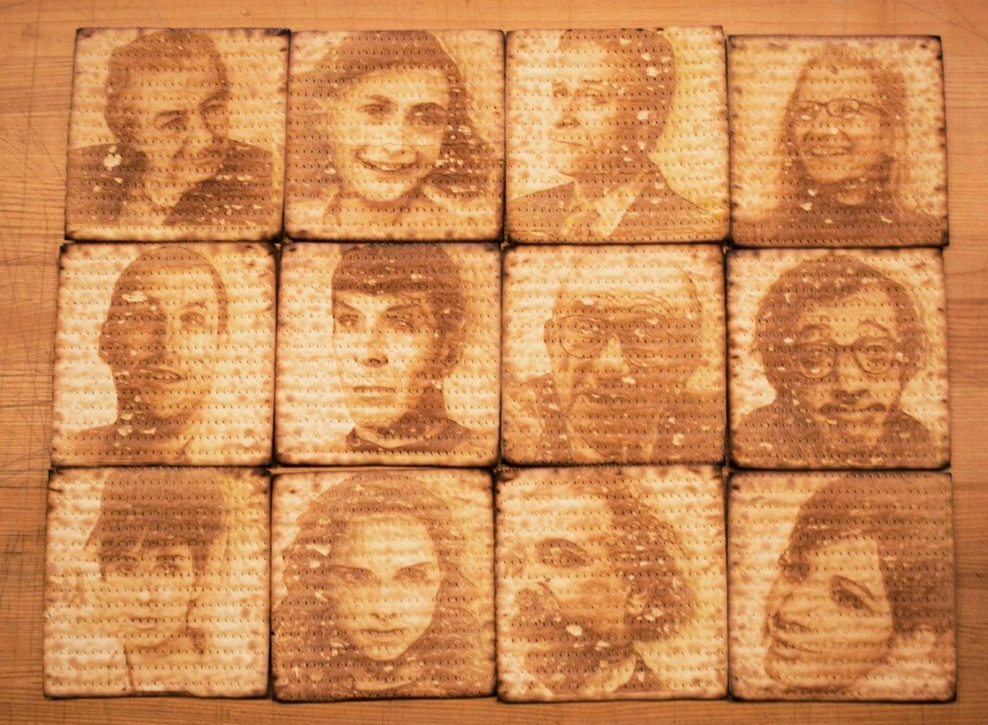 Matzah Portraits