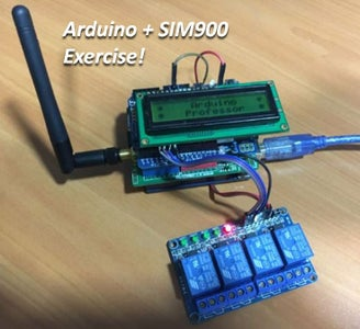 Arduino and SIM900 - Exercise