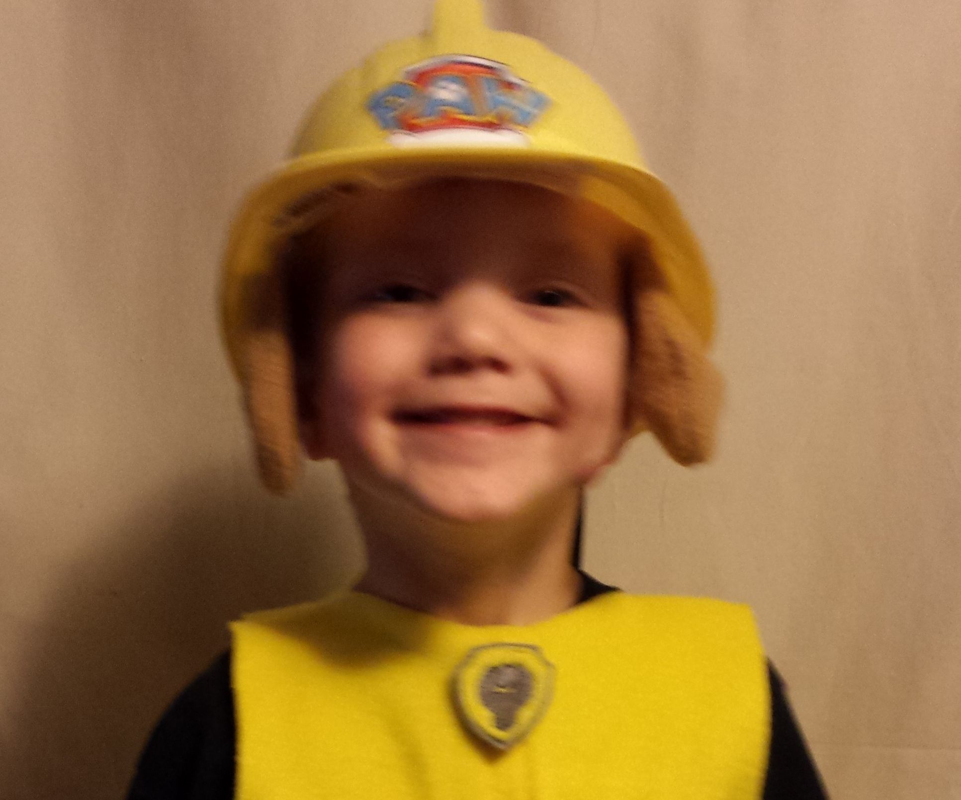 Easy to do Paw Patrol Halloween Costume