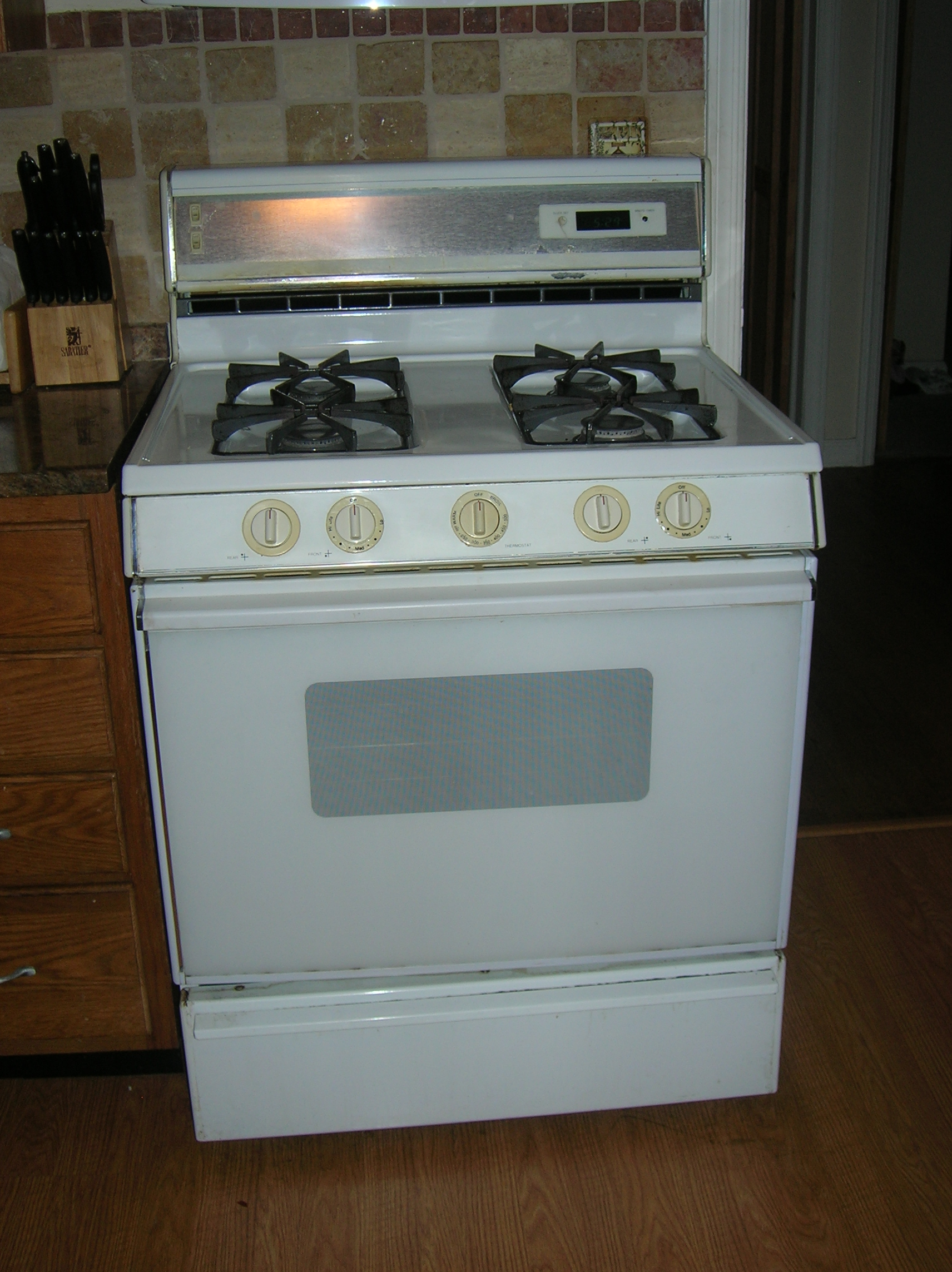 Relabeling Worn Stove Knobs