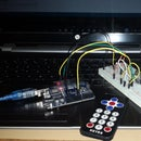 IR remote controlled led with arduino