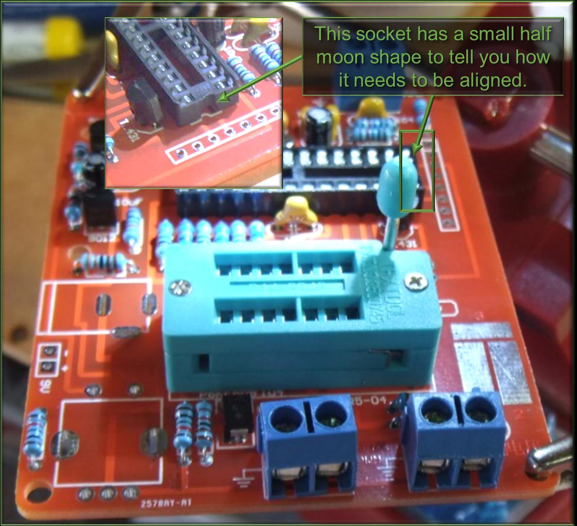 5.2 the Chunky Parts: DIP28 Chip Socket and DIP14 ZIF Socket