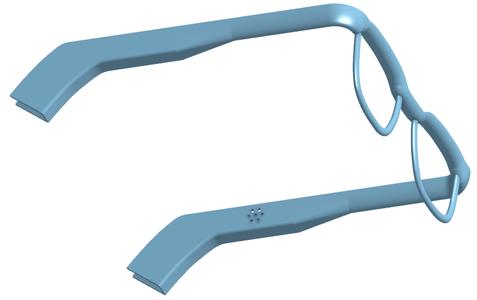 Designing the Glasses on Onshape