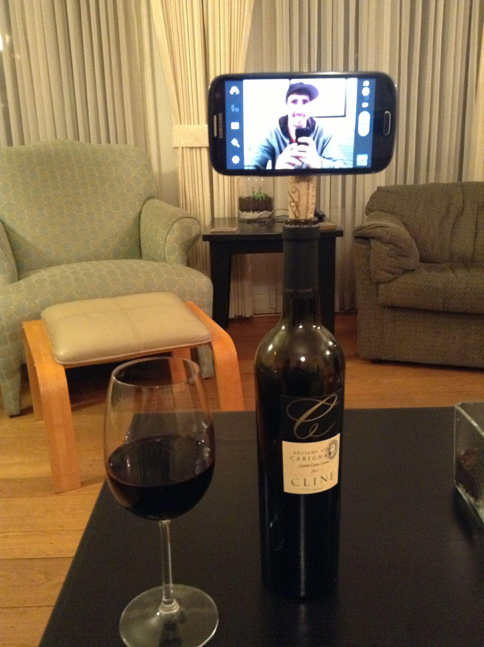 Wine Cork Tripod