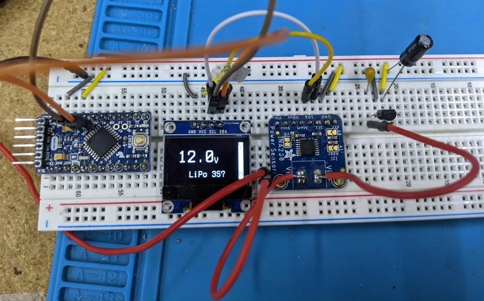 Adding the Voltage Regulator
