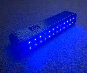 3D Printed UV Blacklight