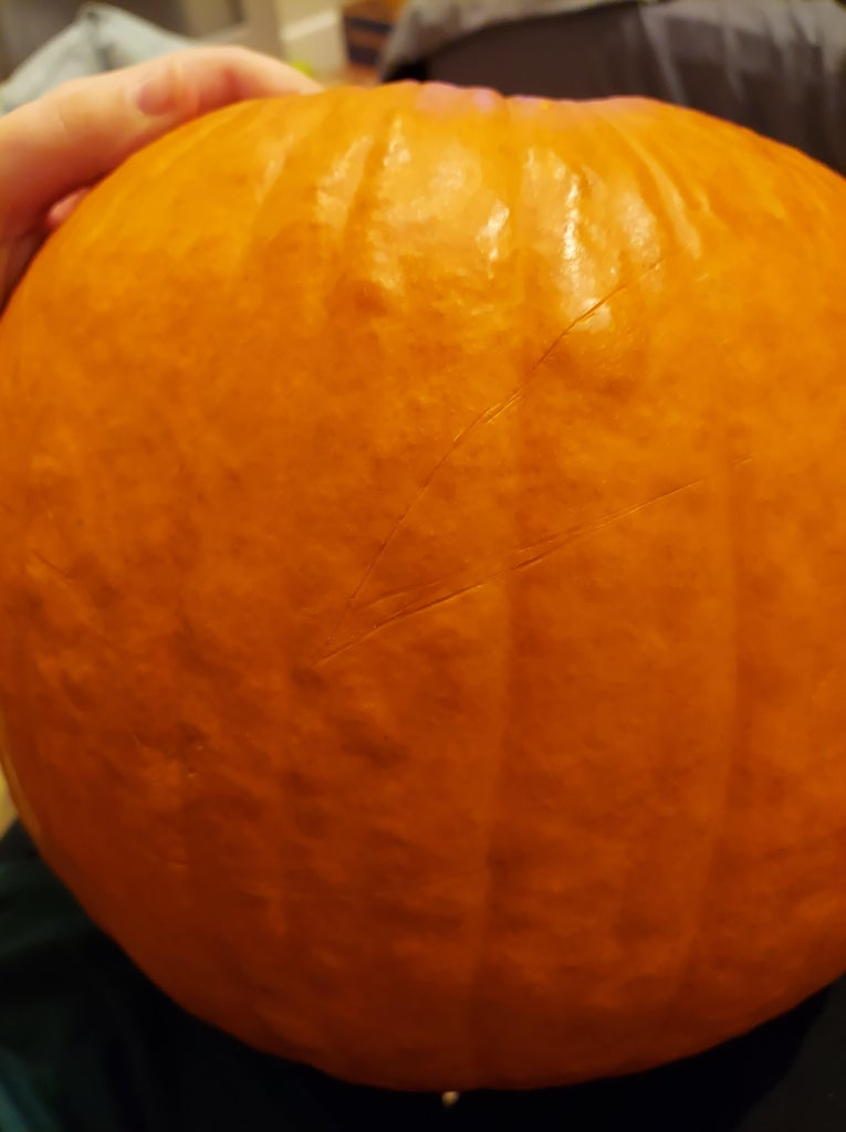 Now for the Embroidered Pumpkin...