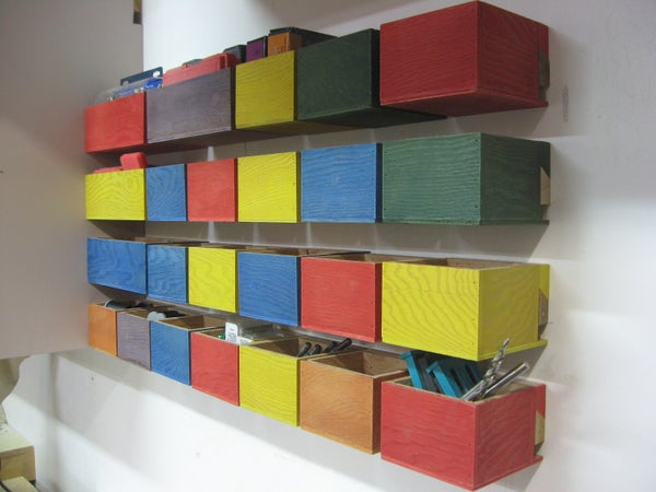Simple Hardware Storage Bins