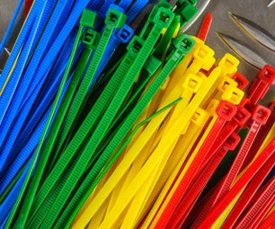 Office Supply Organization - Unusual Uses for Zip Tie
