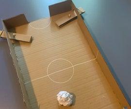Cardboard Soccer Game
